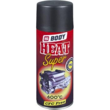 BODY HEAT SUPER PAINT ΜΑΥΡΟ 400ml